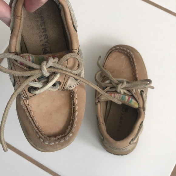 Sperry Baby Girls Boat Shoes 7m